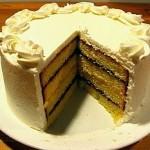 Cake has lots of calories